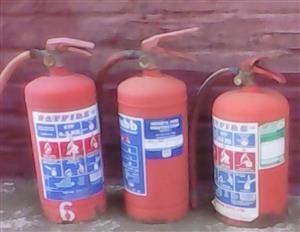 Fire extinguisher's
