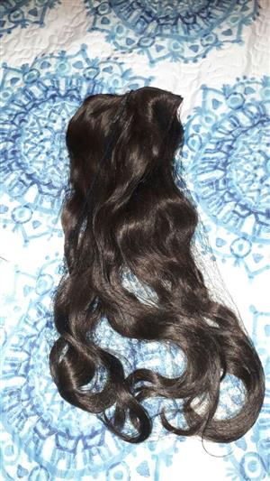 Stunning Brunet Human Hair Extention!