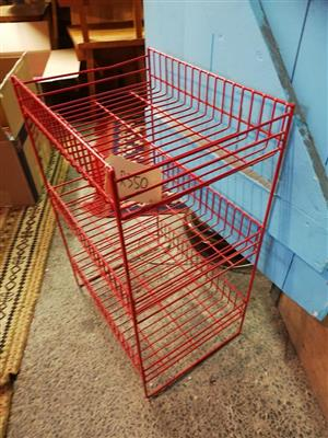 Vegetable rack for sale.