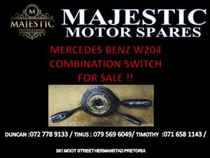 MERCEDES BENZ W204 COMBINATION SWITCH