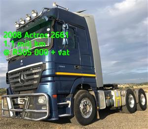 2008 Actros 2661