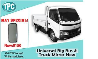 Universal Big Bus & Truck Mirror New For Sale at TPC