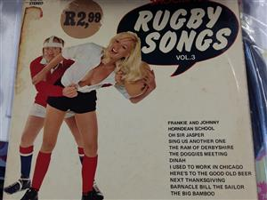Rugby songs record