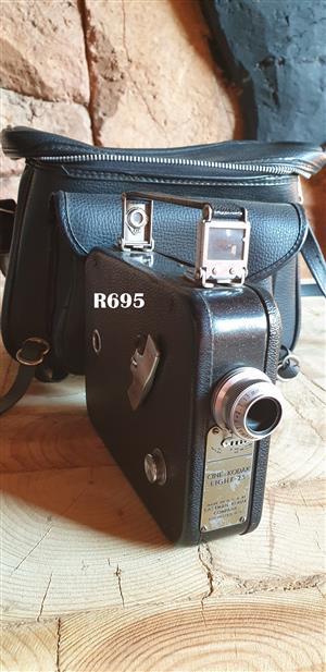Vintage Kodak- Cine - Kodak Eight Model 25 8mm Movie Film Camera