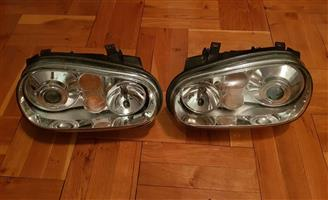 Golf 4 headlights for sale