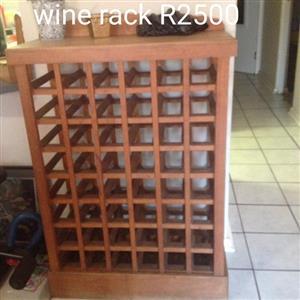 Wooden wine rack for sale
