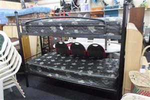 Steel Framed Bunk Bed