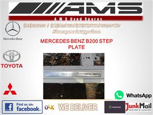 MERCEDES B200 STEP PLATE FOR SALE
