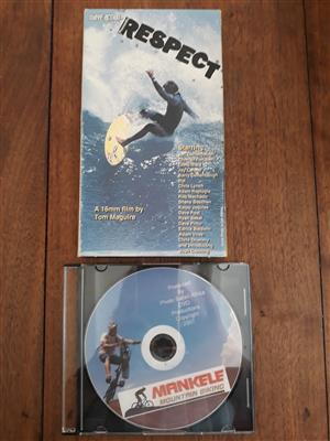 Mountainbiking DVD and Surfing Video