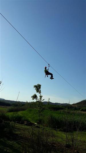 Zipline 560m for sale at Rietvlei farm (Swartkoppies) near Mall of the South