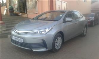 2017 Toyota Corolla 1.3 Advanced
