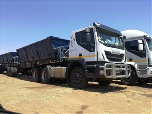34 ton side tippers for hire