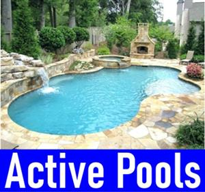 ACTIVE POOLS AND BUILDINGS