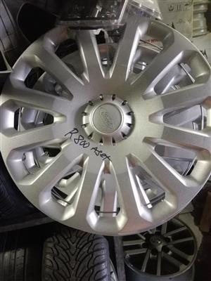 Ford fiesta original standard wheel caps size 15