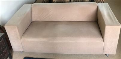 2 x 2 Seater Upholstered Couches