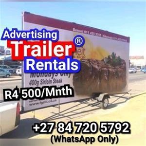 Advertising Trailer Rentals