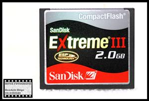 SanDisk Extreme III 2GB Compact Flash