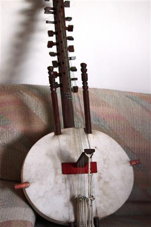 Kora (21-string lute-bridge-harp from West Africa)