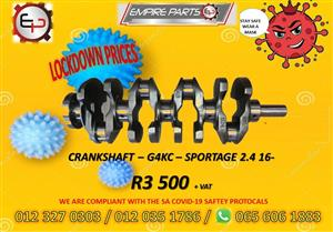 G4KC - KIA SPORTAGE 2.4 13 CRANKSHAFT