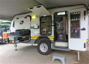 Gecko Elite 2 luxury offroad caravan