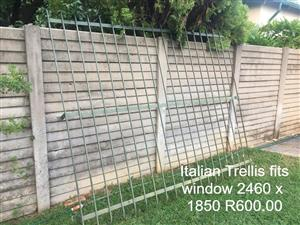 Italian trellis for sale