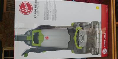 Brand new Hoover Rapide Ultra carpet washer