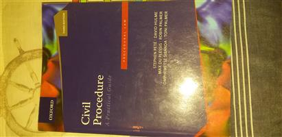 Unisa LLB Textbooks for Sale