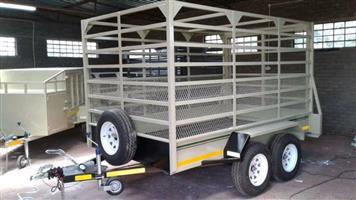 Standard Cattle Trailer Double Axle