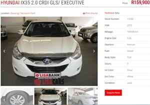 2012 Hyundai ix35 2.0CRDi Executive