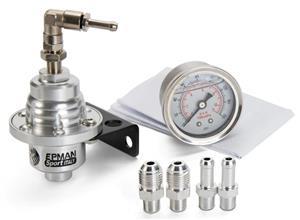 Aluminium Adjustable Fuel Pressure Regulator with Gauge