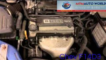Complete Second hand used engines, CHEV AVEO/NUBIRA 1.4L, CHEV F14D3