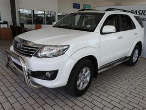 2012 Toyota Fortuner V6 4.0 4x4 automatic