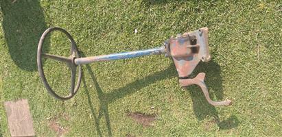 tractor steering
