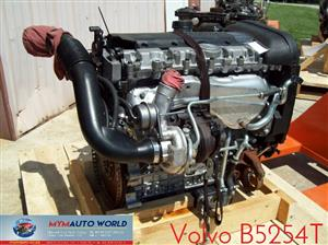 Imported used  VOLVO V50/C70/S40/S80/V70/S70/VC70 2.5L, B5254T engine Complete