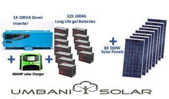 10kW Off-Grid Solar System