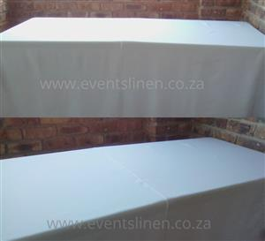 Chair covers and Trestle tablecloths