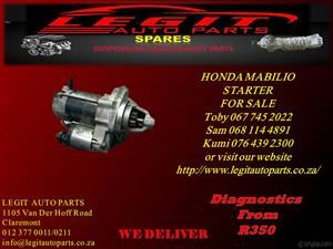 HONDA  MABILIO STARTER FOR SALE