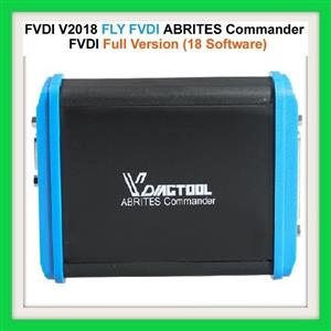 Key and ECU programmer with Mileage Corrector and diagnostic tool: Newest FVDI V2018 Original FLY FVDI ABRITES Commander Full Version