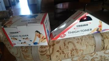 Trojan torso slider and thigh toner
