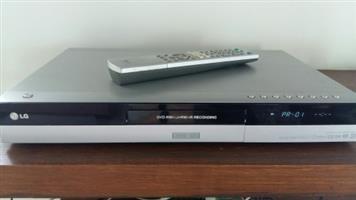 LG DVD Recorder, 80GB HDD, Model RH1757