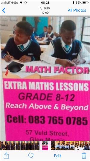 Maths and Science tutors Glen Marais