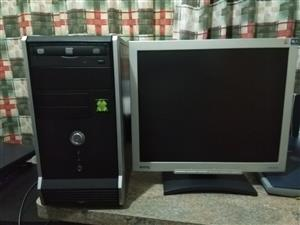 Intel Core 2 duo computer + 17 inch screen