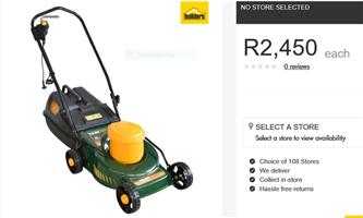 TRIMTECH 1500W LAWNMOWER. BRAND NEW, NOT USED, DISPLAY MODEL. New price R2450.