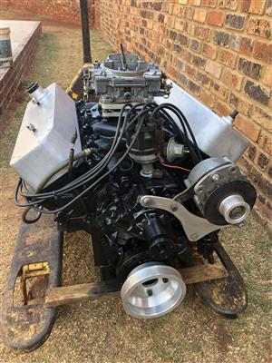 Ford 351 Cleveland V8 with C4 auto box