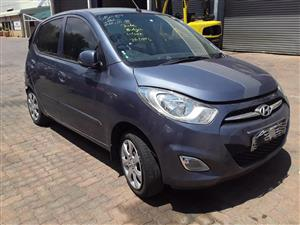 Stripping Hyundai I10 For Parts