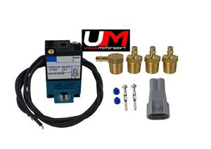 3-Port Electronic Boost Control Solenoid Valve 35A-ACA-DDBA-1BA with Brass Silencer