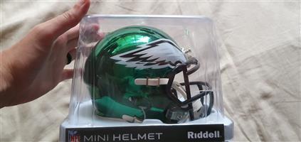 NFL replica speed helmet small eagles