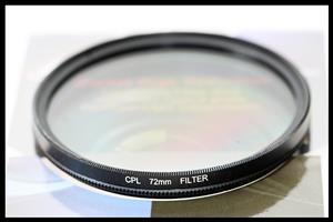 72mm - Circular Polarized Filter