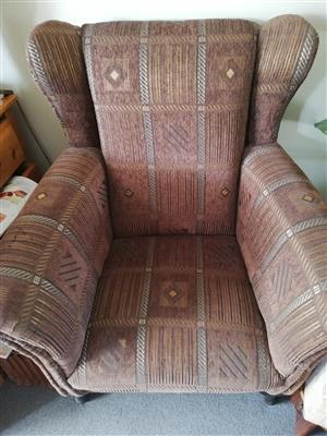 Winged Back Chair