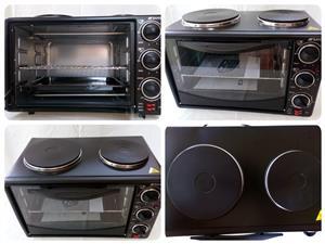 New 2-plate Mini Oven